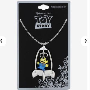 Disney Pixar Toy Story Alien Spaceship Necklace